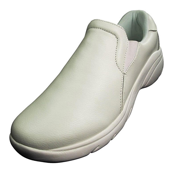 White Slip Resistant Nursing Shoes