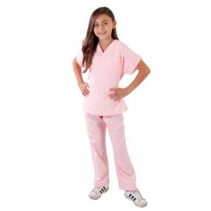 nuniforms-CHILDRENS-SCRUB-SET-Pink