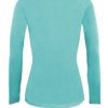 Aqua Blue tee uniform stretchy fit shaped cotton soft uniform Shirt