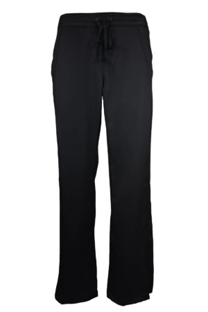 Black Drawstring Scrub Pant 2 Pocket