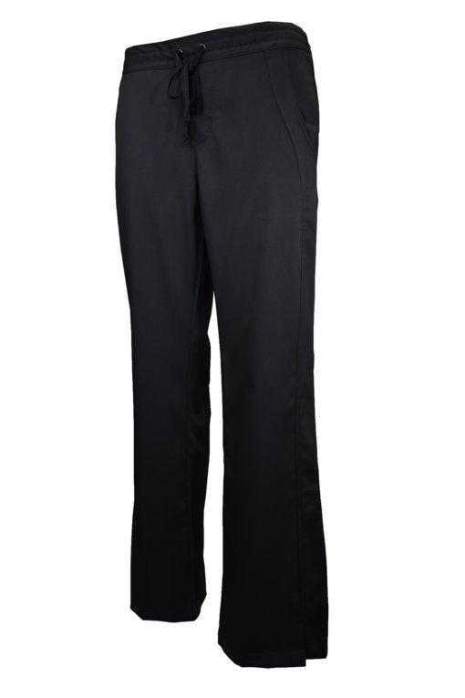 Black Drawstring Scrub Pant 2 Pocket