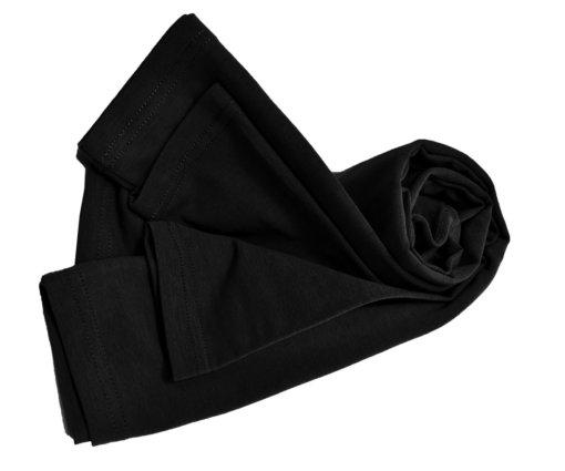 Black t-shirt uniforms strechy fit shaped cotton soft uniform Shirt tee