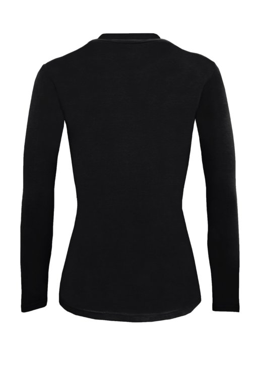 Black t-shirt uniforms strechy fit shaped cotton soft uniform Shirt tee