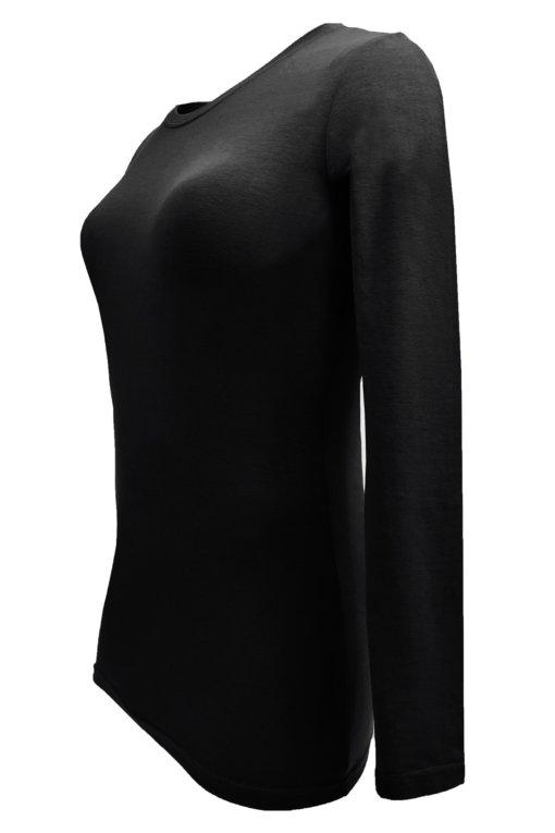 Black t-shirt uniform workwear cotton soft scrub tee