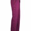 Burgundy Drawstring Scrub Pant 2 Pocket