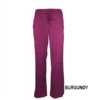 Burgundy Womens Soft Drawstring Scrub Pant Natual Uniforms Modern Fit