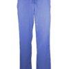 Ceil Blue Drawstring Scrub Pant 2 Pocket