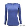 Ceil Blue t-shirt uniform stretch Scrub top