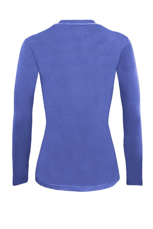 Ceil Blue t-shirt uniform stretchy fit shaped body cotton soft