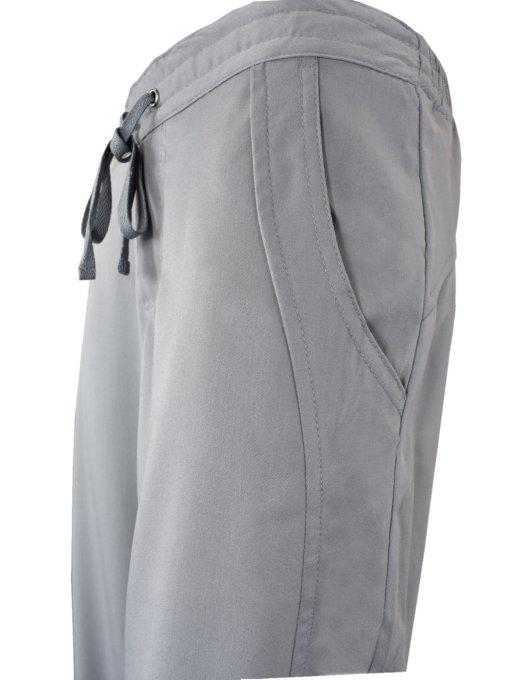 Grey Drawstring Scrub Pant 2 Pocket