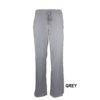 Grey Womens Soft Modern Fit 2 Pocket Drawstring Scrub Pant Natual Uniforms