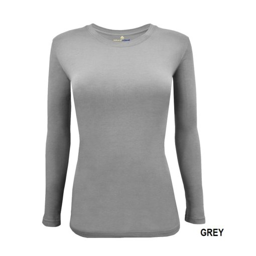 Grey t-shirt uniform under scrub stretch