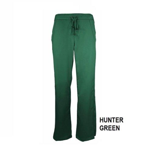 Hunter Green Womens Soft Drawstring Scrub Pant Natual Uniforms Modern Fit