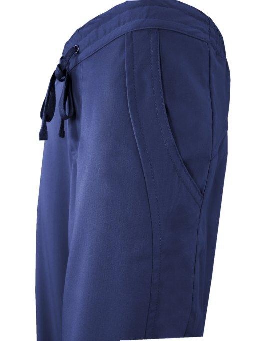 Navy Blue Drawstring Scrub Pant 2 Pocket