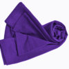 Purple t-shirt uniform stretchy fit shaped cotton soft uniform Shirt tee