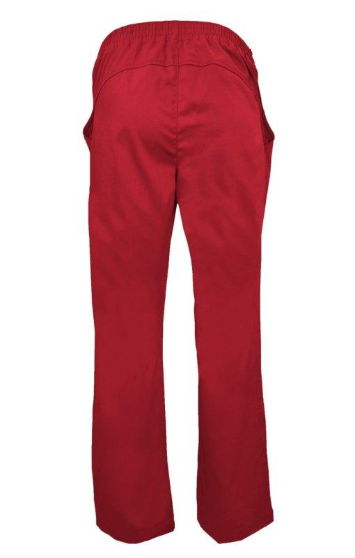 Red Drawstring Scrub Pant 2 Pocket