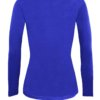 Royal Blue t-shirt uniform stretch fit shaped cotton soft uniform Shirt
