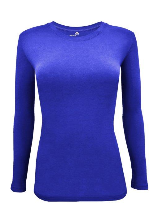 Royal Blue t-shirt uniform stretch fit shaped cotton soft uniform Shirt