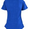Royal Blue Ultra Soft Stretch Drop-Neck 2 Pocket Scrub Top