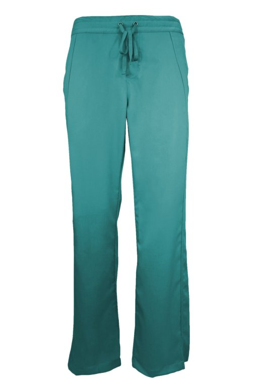 Teal Drawstring Scrub Pant 2 Pocket