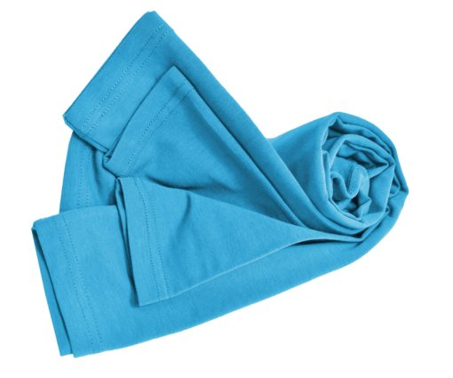Water Blue t-shirt uniform stretchy cotton
