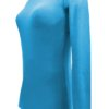 Water Blue t-shirt uniform stretchy cotton