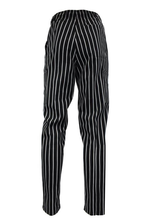Chalkstripe front chef pant uniforms