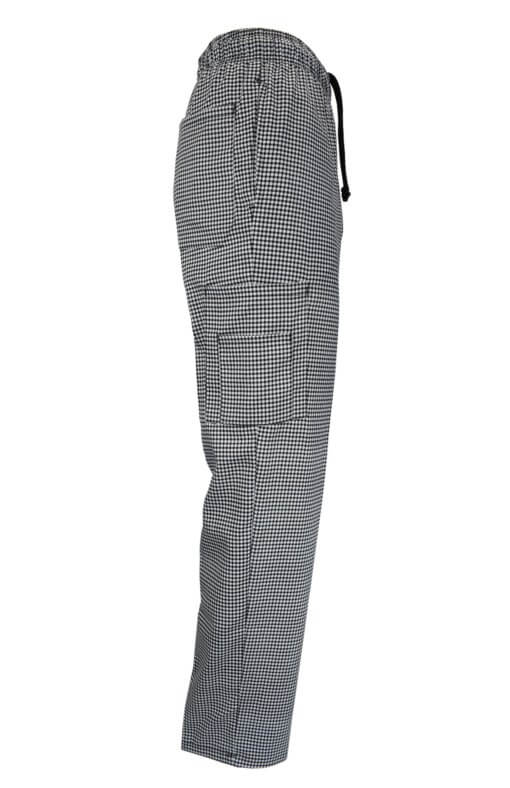 Houndstooth front chef pant uniforms